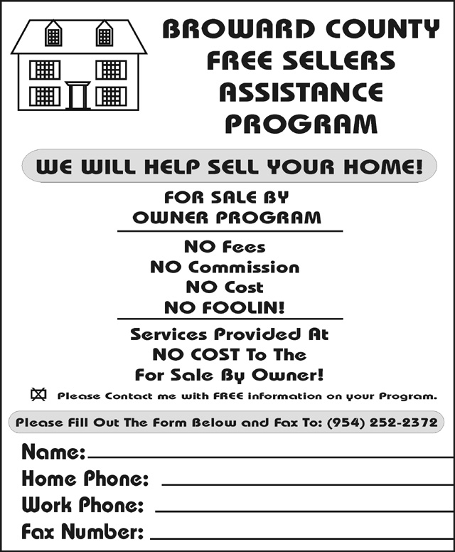 Fax Broadcast Sales Leads - Fax Sample Ads / Fax ...