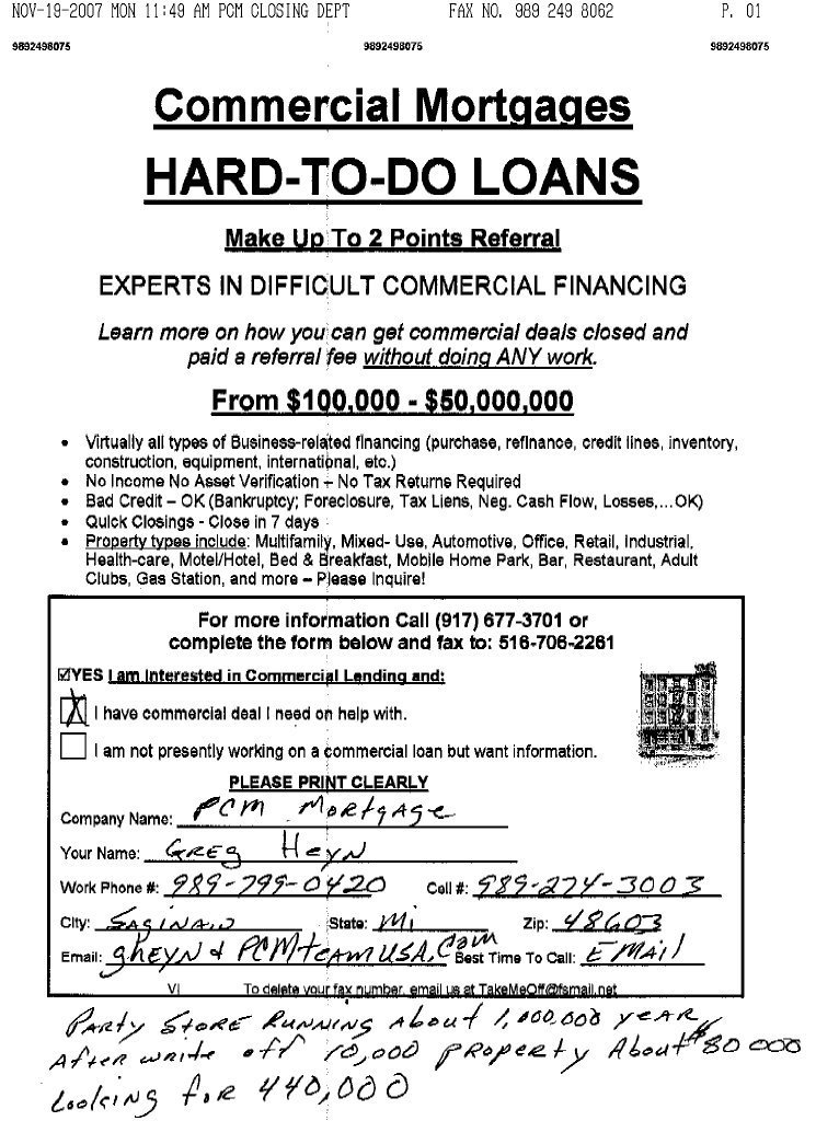 A mortgage broker must hold