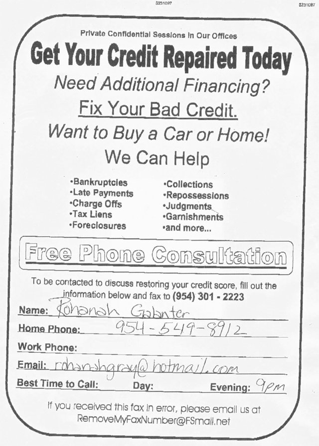 credit repair advertising. Credit Repair